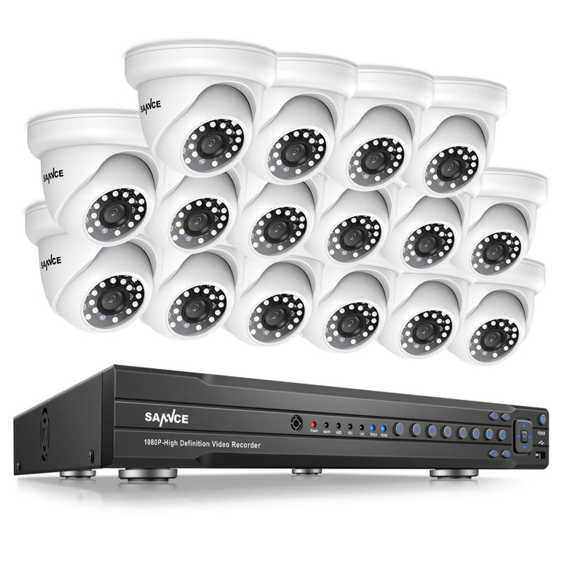 1080P DVR System with Outdoor Cameras