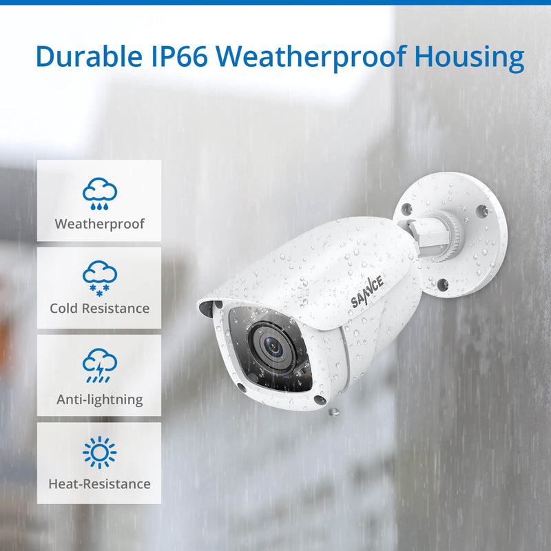 1080P HD CCTV Camera System with Outdoor Cameras