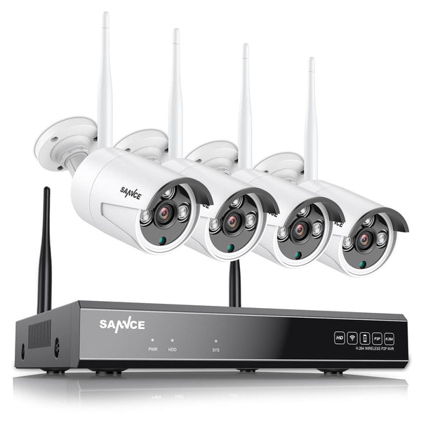 1080P FHD Wireless Security Camera System