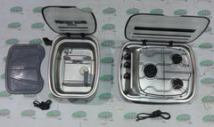 Spinflo Argent hob & sink set