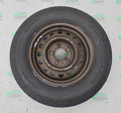 Steel wheel & tyre; 195/70 R14, 5 Stud