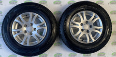 Swift group alloy wheels; 14