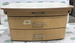 2009 Elddis Avante chest of drawers