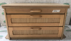 1999 Elddis Hurricane chest of drawers