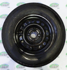 Steel wheel & tyre; 185 R14, 4 Stud