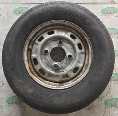 Steel wheel & tyre; 185/70 R13, 4 Stud 130MM PCD