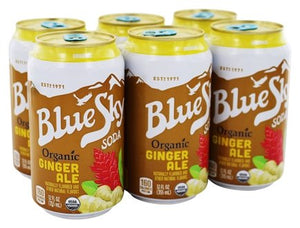Blue Sky Ginger Ale 12oz