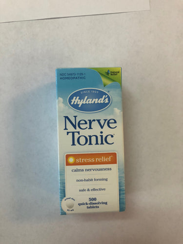 Hyland's Nerve Tonic 65 Quick Dissolving Tablets