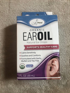 Wallys Natural Ear Oil Ear Drops 1 fl 0z