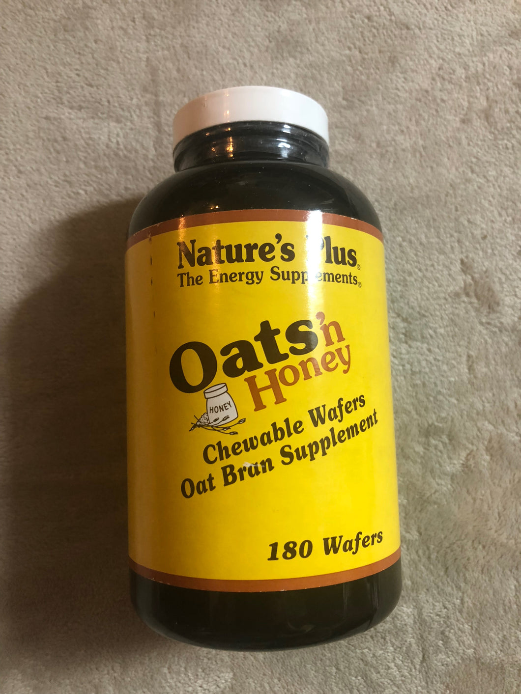 Natures Plus Oats n' Honey 180 Wafers