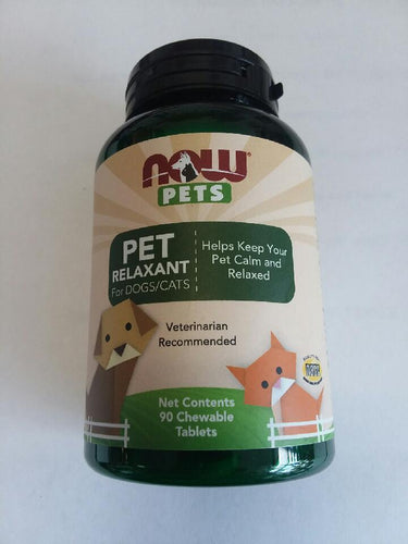 Now Pets Pet Relaxant 90 Chewable Tablets