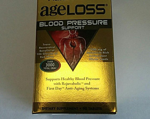 Nature's Plus Age Loss Blood Pressure Support 90 Tablets
