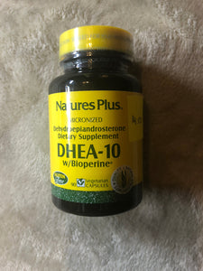 Nature's Plus DHEA-10 90 Capsules