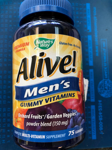 Nature's Way Alive Men's Gummies 75 count