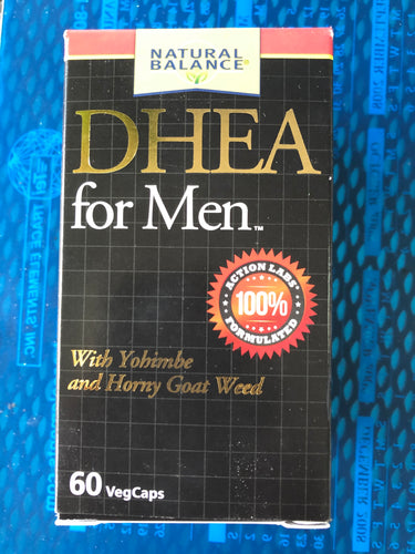 Natural Balance DHEA for Men 60 Veg Capsules