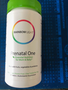 Rainbow Life Prenatal One 90 Tablets