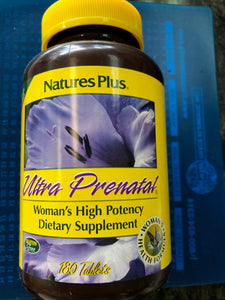 Nature's Plus Ultra Prenatal 180 Tablets