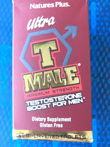 Nature's Plus T-Male 60 Tablets