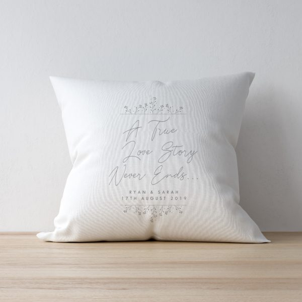 True Love Story Cushion & Insert