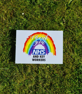 NHS Rainbow Poster