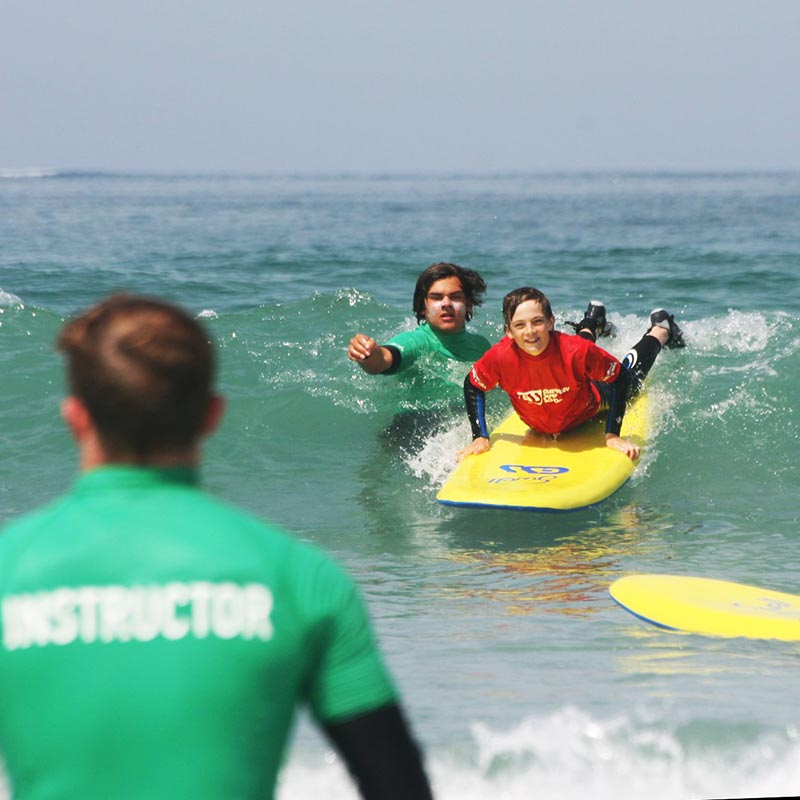 abc lessons Guernsey surf school