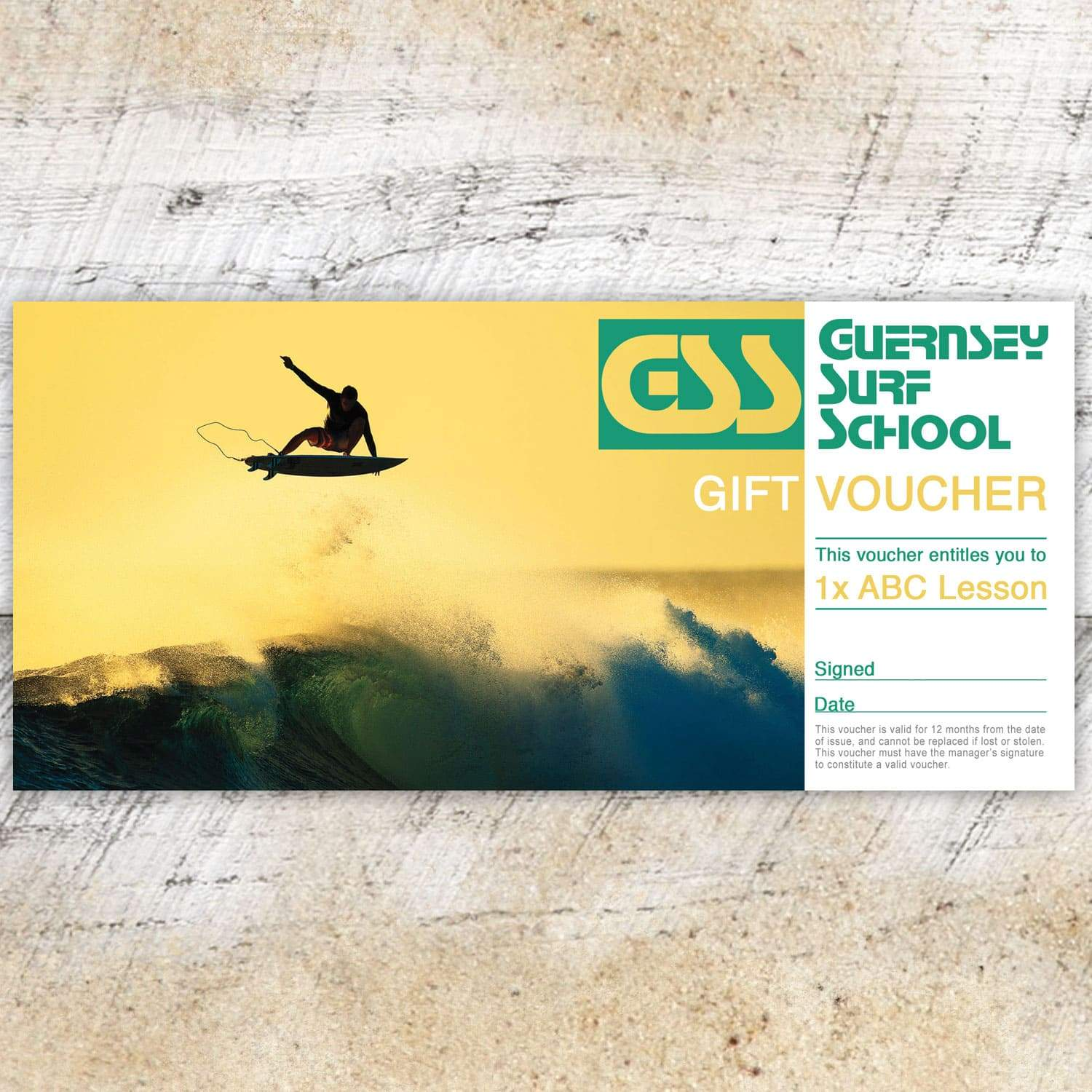 Gift Voucher - ABC Lesson