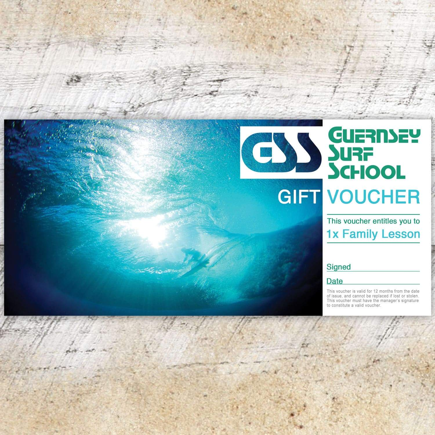Gift Voucher - Family Lesson - - Gift Voucher
