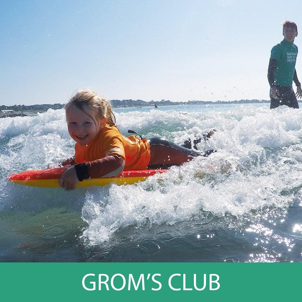 Lesson - Groms' Club 4-6 Year Olds (Bodyboarding)