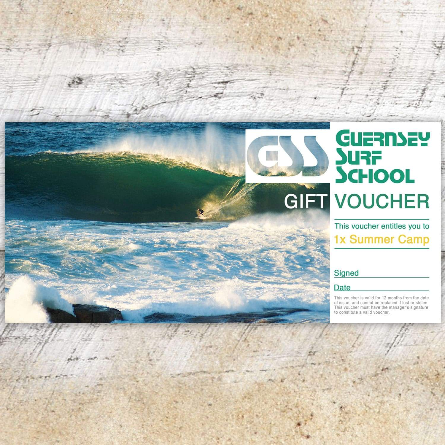 Gift Voucher - All Day Summer Camp - - Gift Voucher