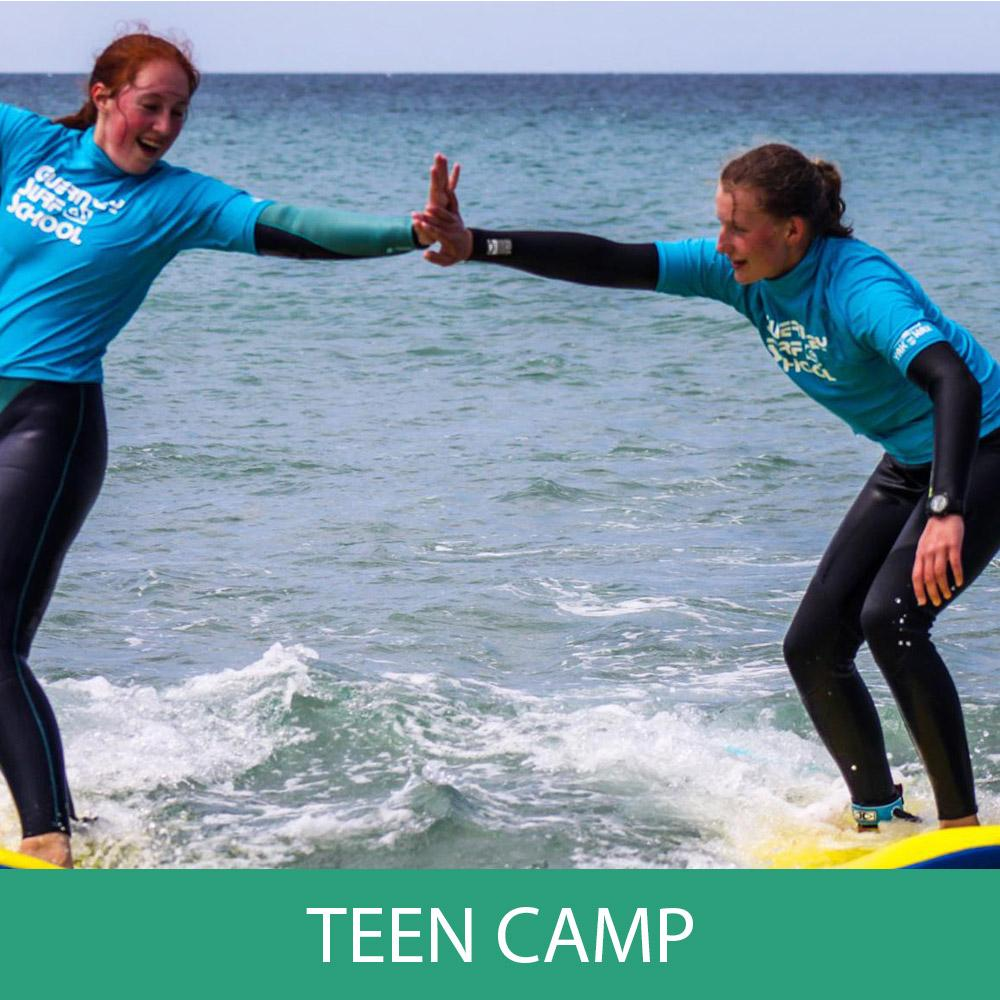 Lesson - Teen Camp Booking