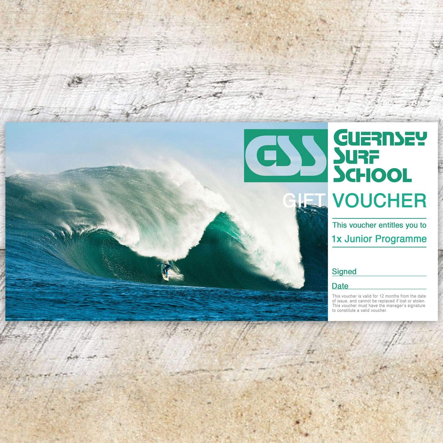 Gift Voucher - Junior Programme