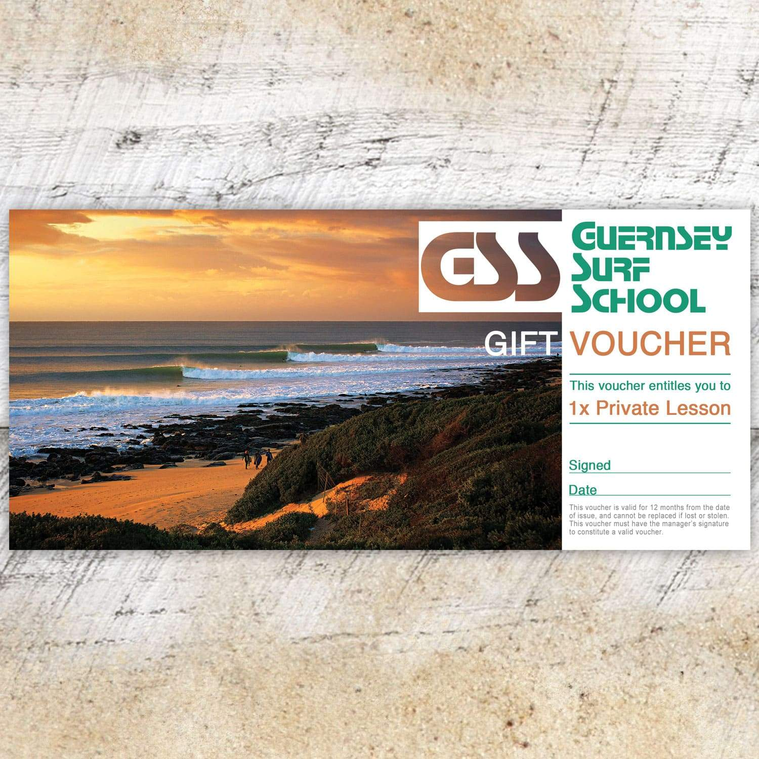 Gift Voucher - Private Lesson - - Gift Voucher
