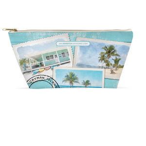 Caribbean Travel Accessory Pouch 8.5x4.5