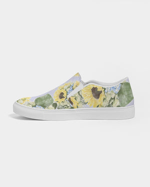 Jo's Bouquet Women's Slip-On Canvas Shoe