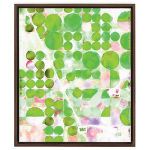 Green Terra Firma Framed Canvas Wraps