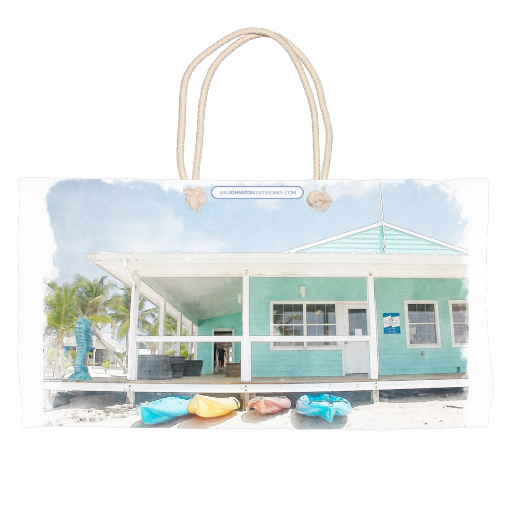 Cayman Brac Dive Shop Weekender Rope Tote