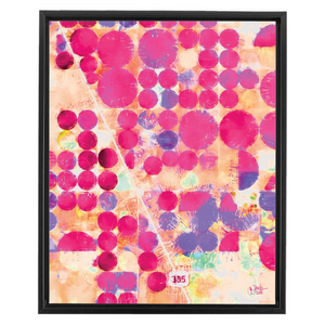 Pink Terra Firma Framed Canvas Wraps