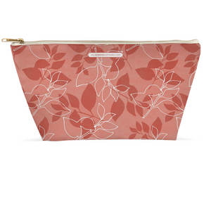 Red Leaves Accessory Pouches