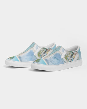 Photos from the Islands - Women's Slip-On Canvas Shoe