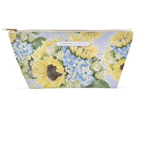Jo's Bouquet Watercolor Accessory Pouches