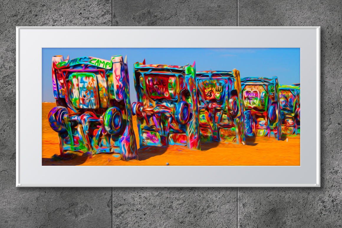 Cadillac Ranch Neon