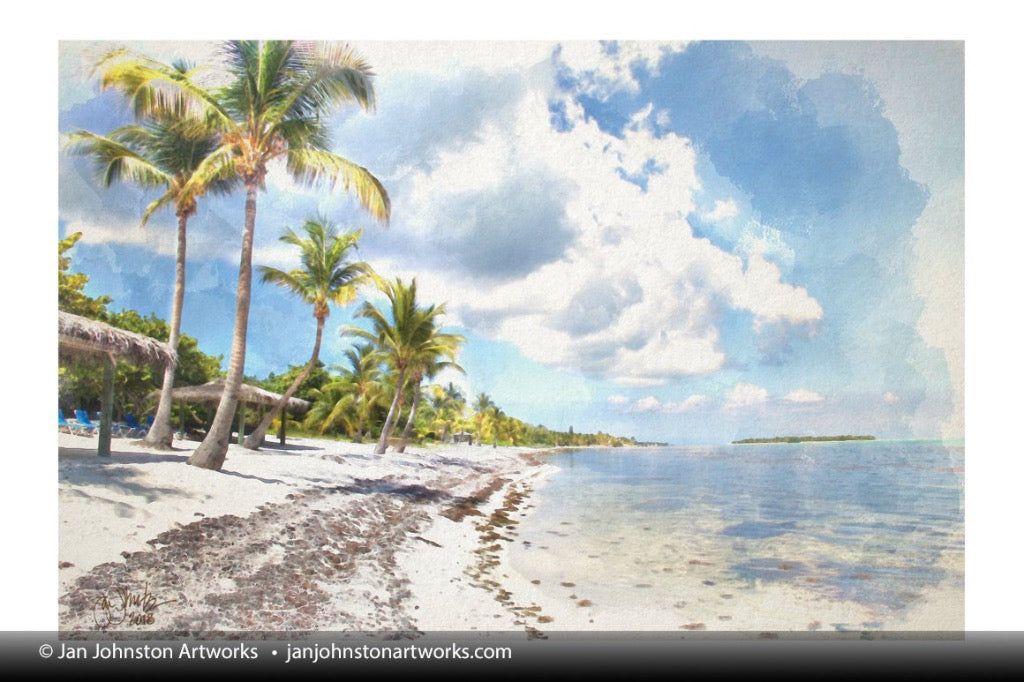 Down the Beach - Little Cayman