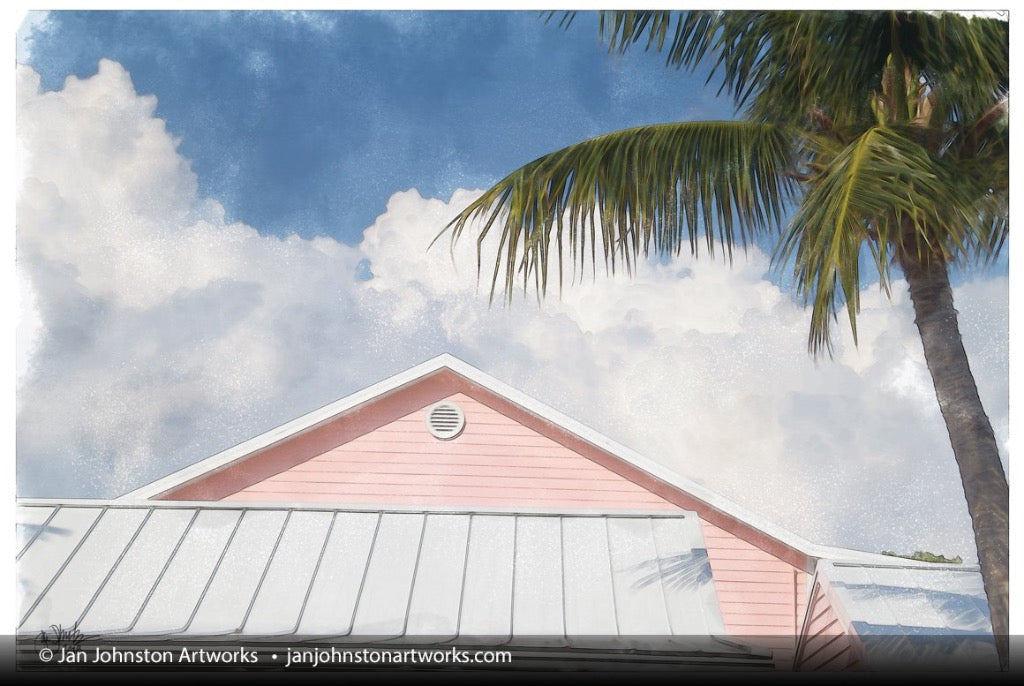 Little Cayman Pink Building