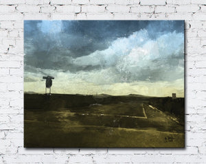 New Mexico Passing Storm Canvas Wrap