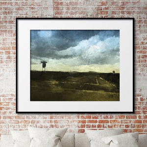New Mexico Passing Storm Print
