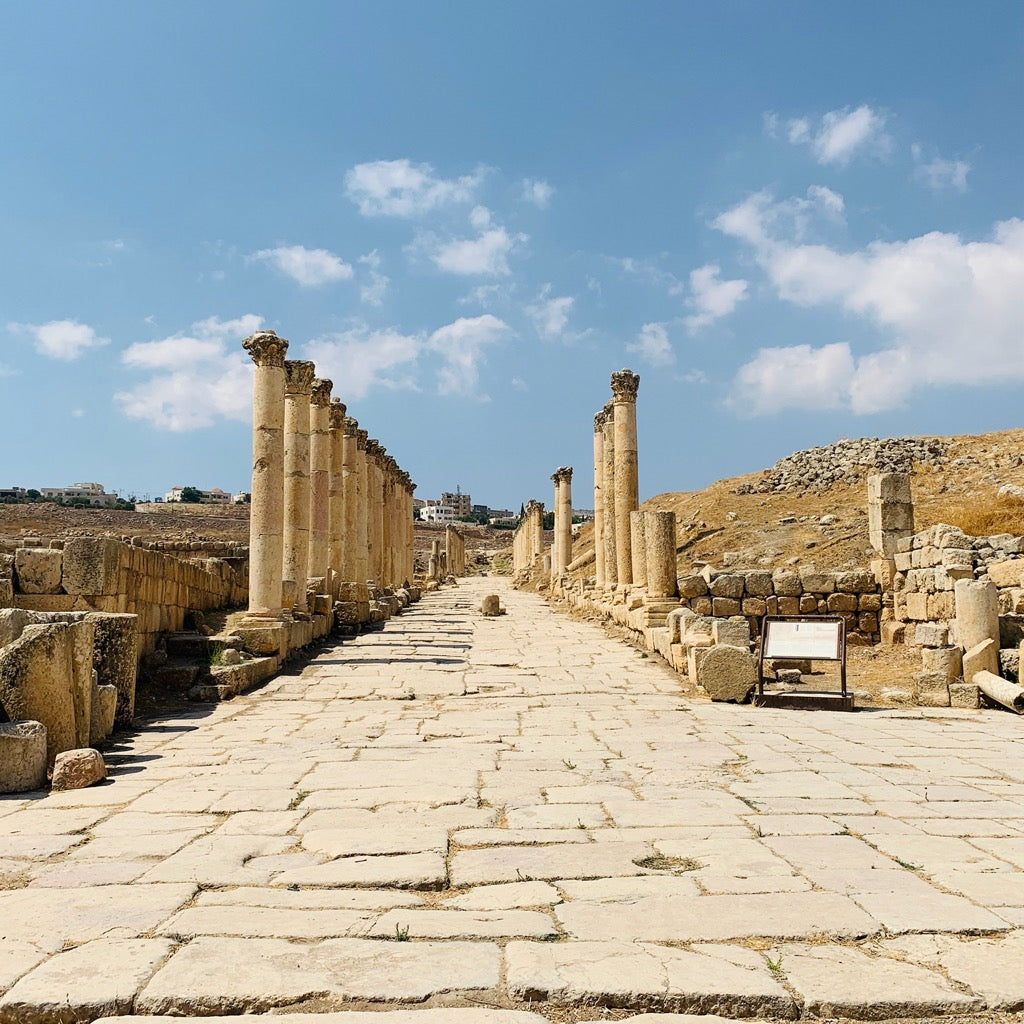 Part of the Cardo in Jerash
