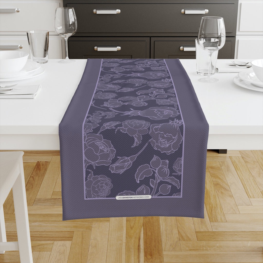 Peony & Rose Line Table Runners