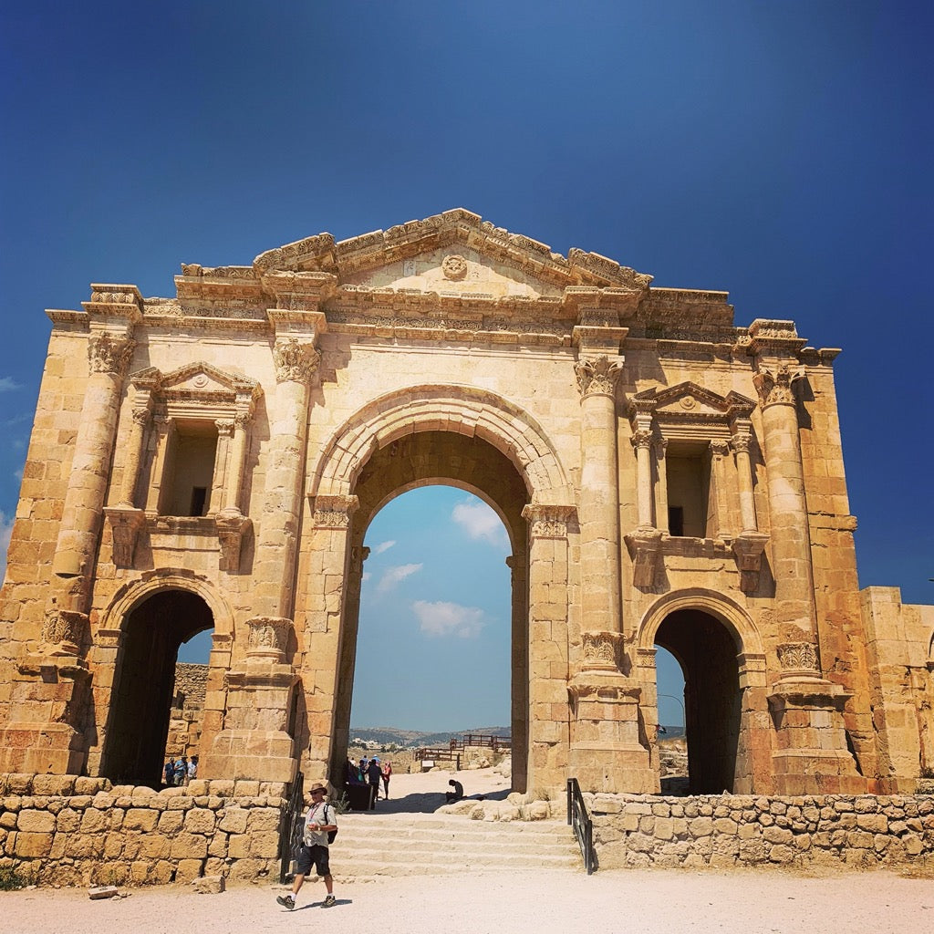 Roman Gate Entrance to Jerash