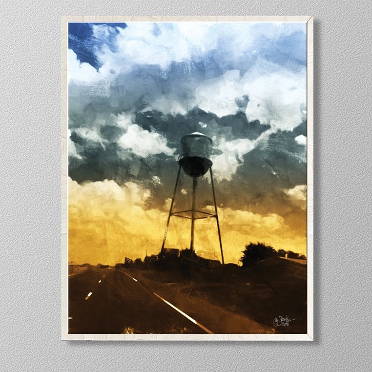 Texas Water Tower