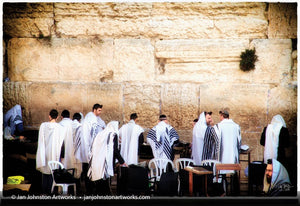 Western Wall Prayers - Jerusalem Print